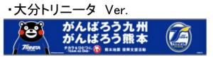 がんばろう九州・熊本 チカラをひとつに。タオルマフラー