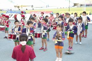 幼年消防クラブ鼓笛演奏