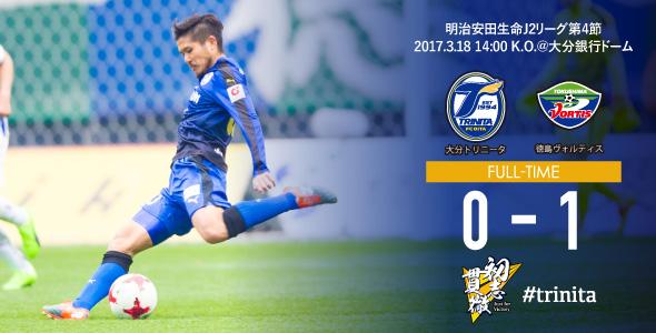 徳島戦試合結果